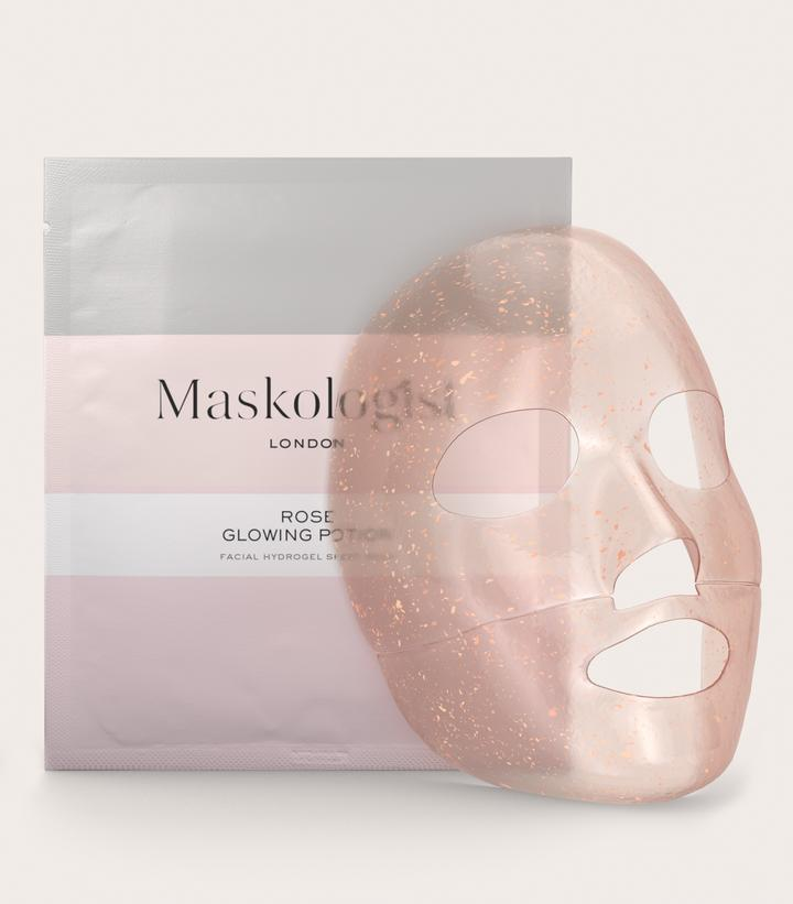 Rose Glowing Potion Sheet Mask Rose Essential Oil Skin So Soft