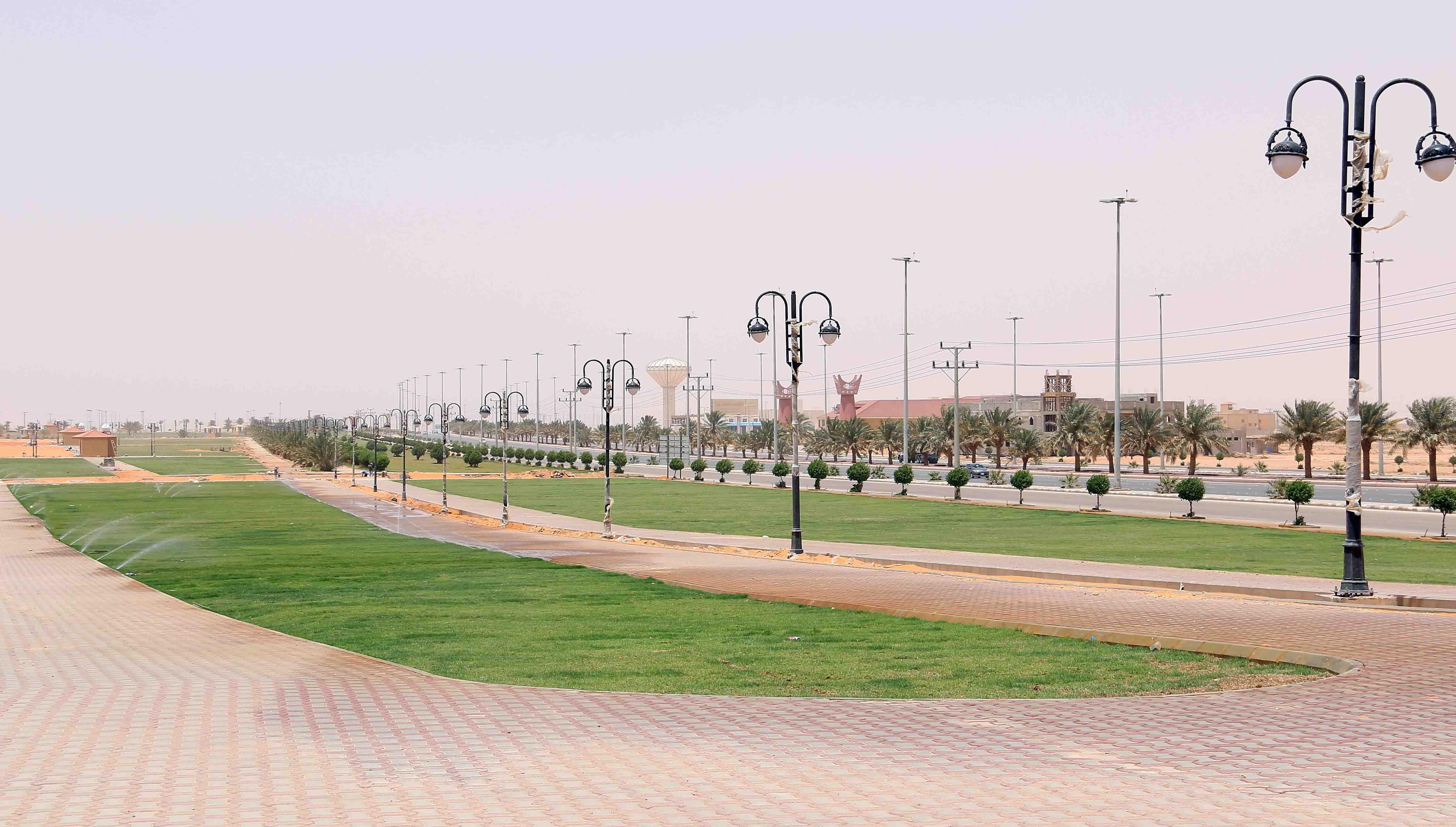 بلدية الزلفي تستكمل استعدادها لهذا الصيف 1435هـ شبكة سما الزلفي Baseball Field Field