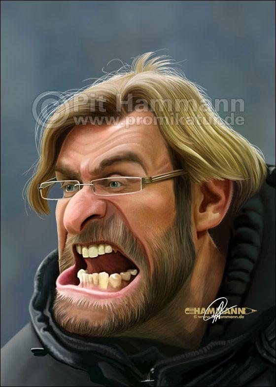 Lustige Gesichter Lustige Karikaturen Bvb Dortmund