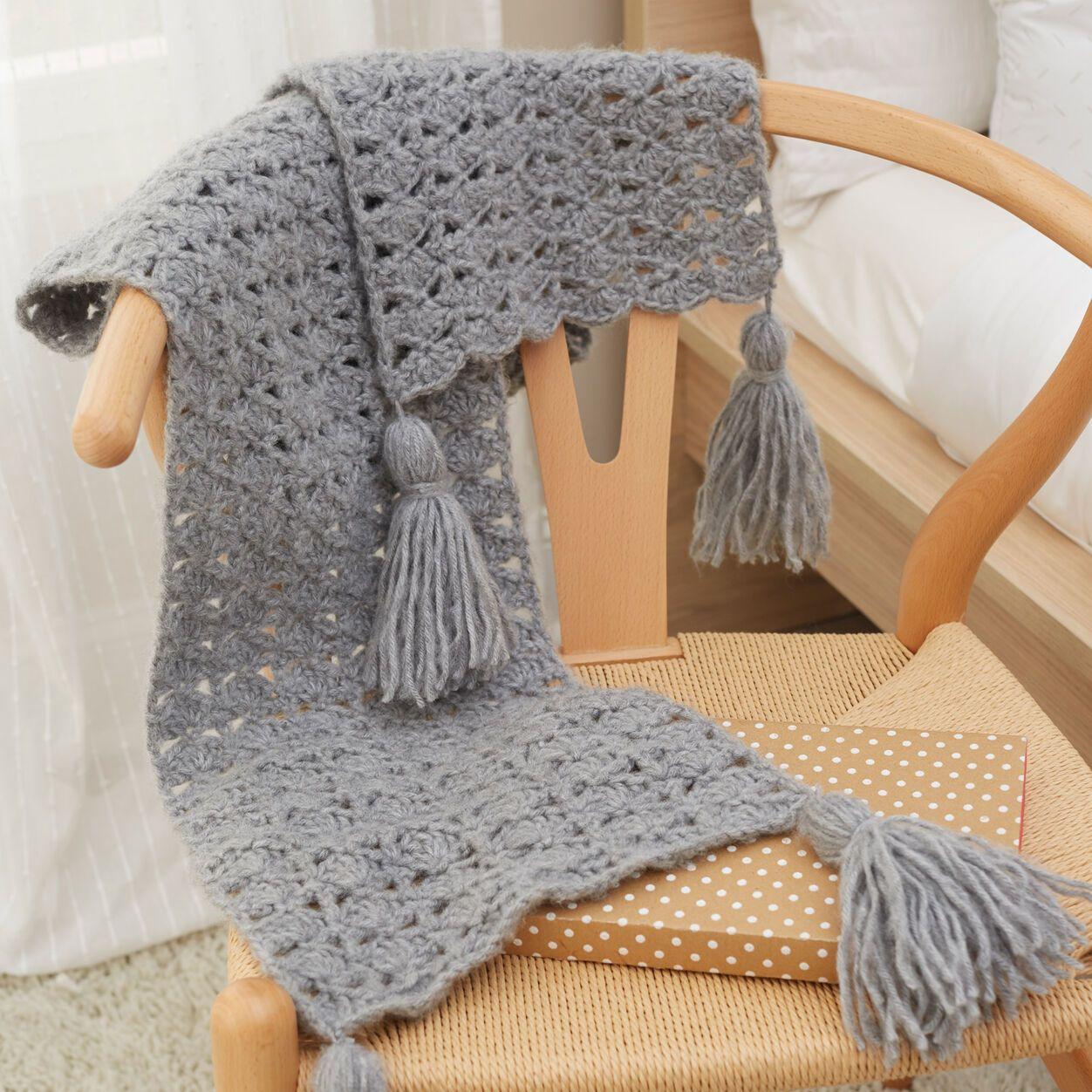 Red Heart Daydream Scarf | Yarnspirations | Crochet scarf ...