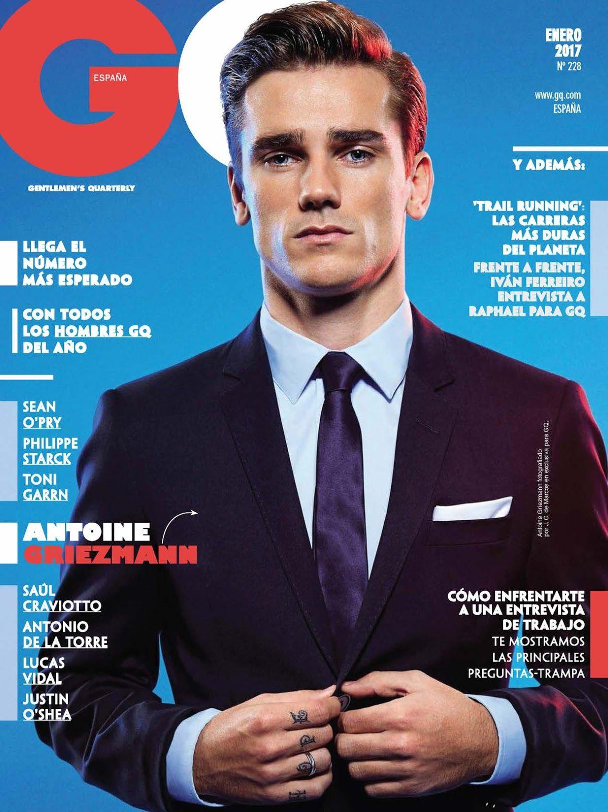 Antoine Griezmann para GQ España por J.C. de Marcos | Pinterest ...