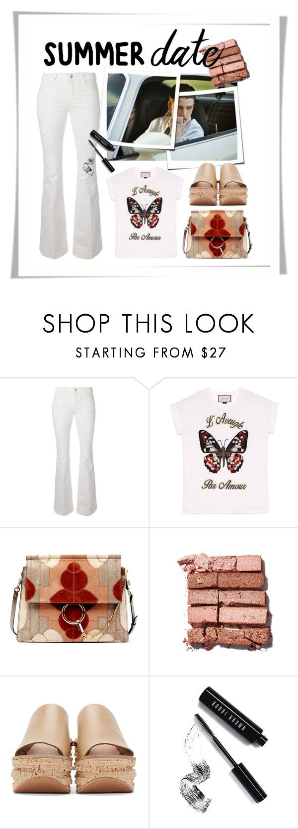 """Untitled #961"" by kvietok ❤ liked on Polyvore featuring STELLA McCARTNEY, Gucci, Chloé, Bobbi Brown Cosmetics, DateNight, drivein and summerdate"