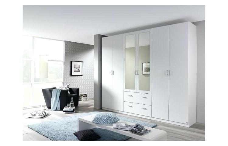 Kleiderschrank 3m Hochglanz Weiss Schlafzimmer Schrank Weis