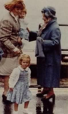 York Sisters: Duchess of York with Princess Eugenie and Princess