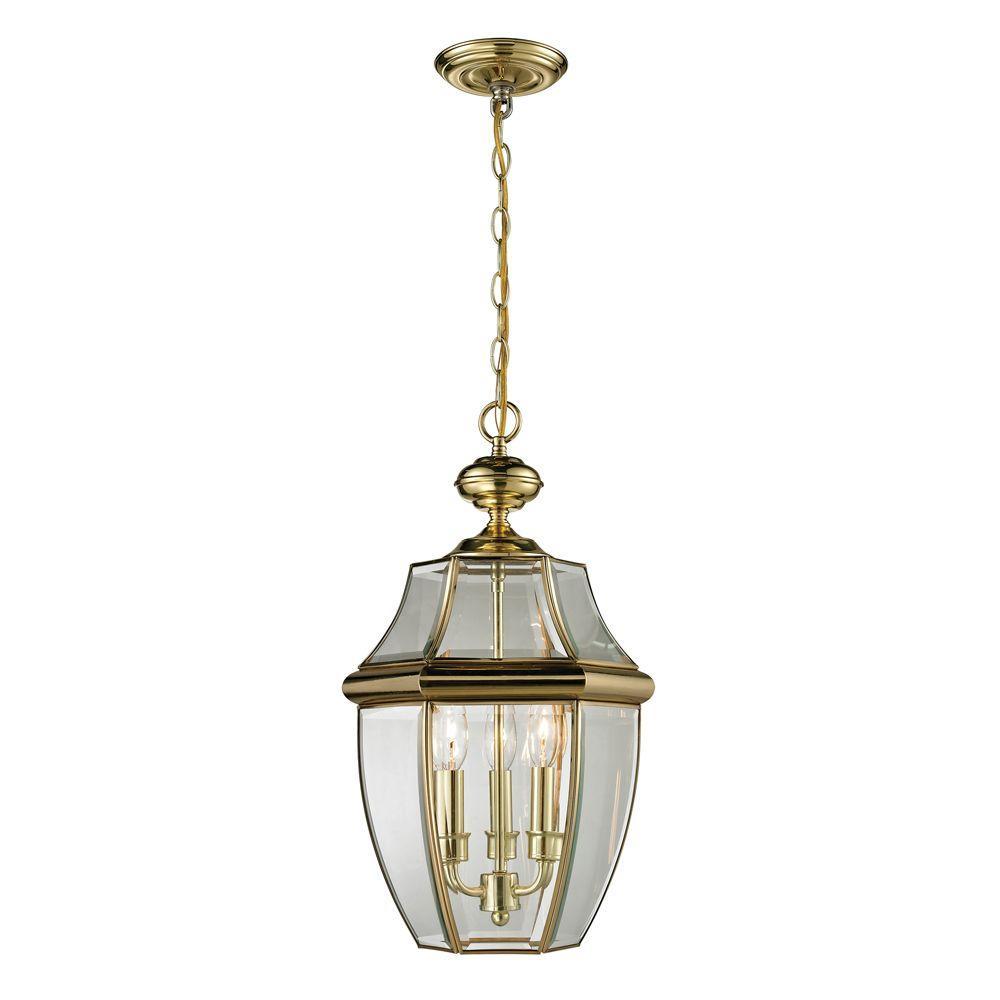 Titan Lighting Ashford 3 Light Antique Brass Outdoor Pendant Tn 50223 Outdoor Pendant Lighting Outdoor Hanging Lanterns Outdoor Hanging Lights