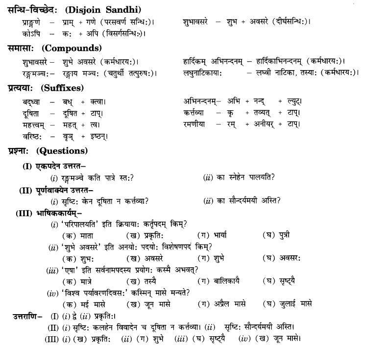 ncert-solutions-class-10th-sanskrit-chapter-7-ramaniya-ki-srusti - sanskrit alphabet chart