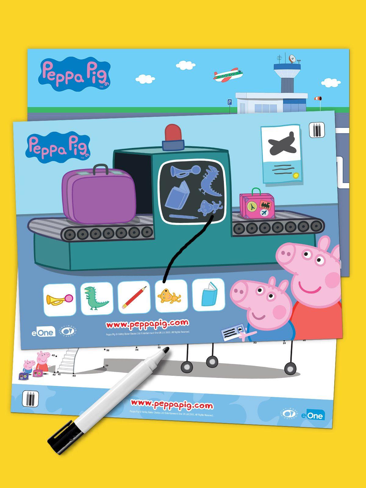Peppa Pig Summer Travel Pack Summer travel packing