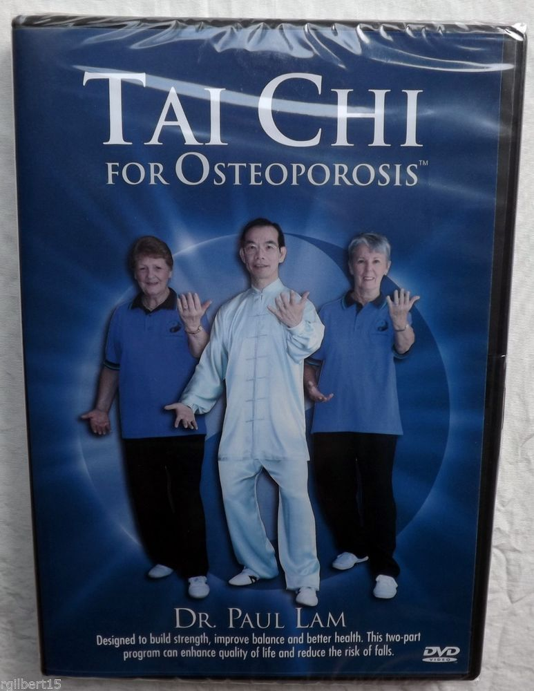 Tai Chi For Osteoporosis Dr Paul Lam Exercise Fitness Health DVD Sealed NEW