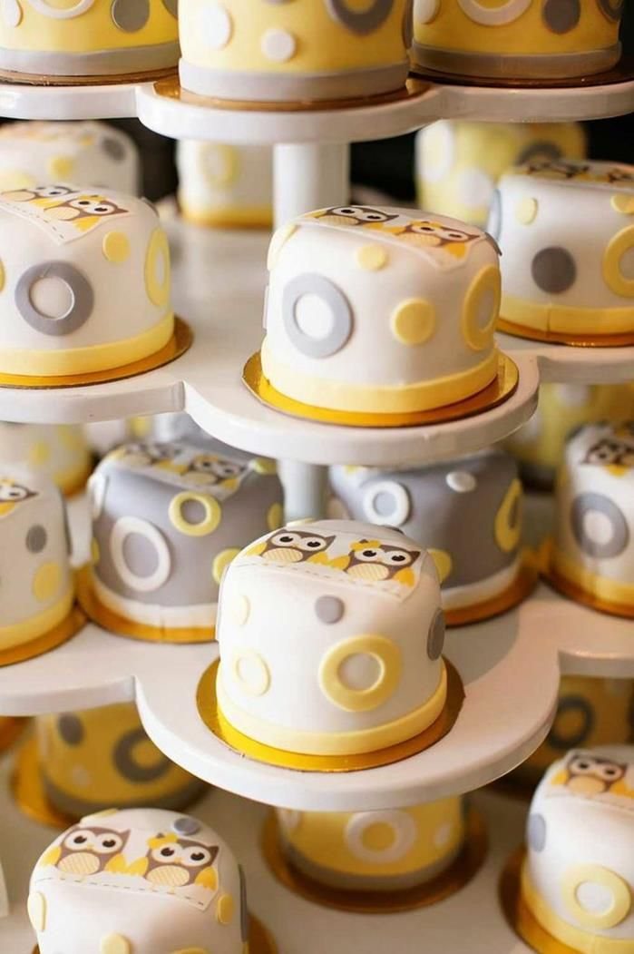 Owl yellow grey gray twin baby shower party planning ideas cake owl yellow grey gray twin baby shower party planning ideas cake idea negle Choice Image
