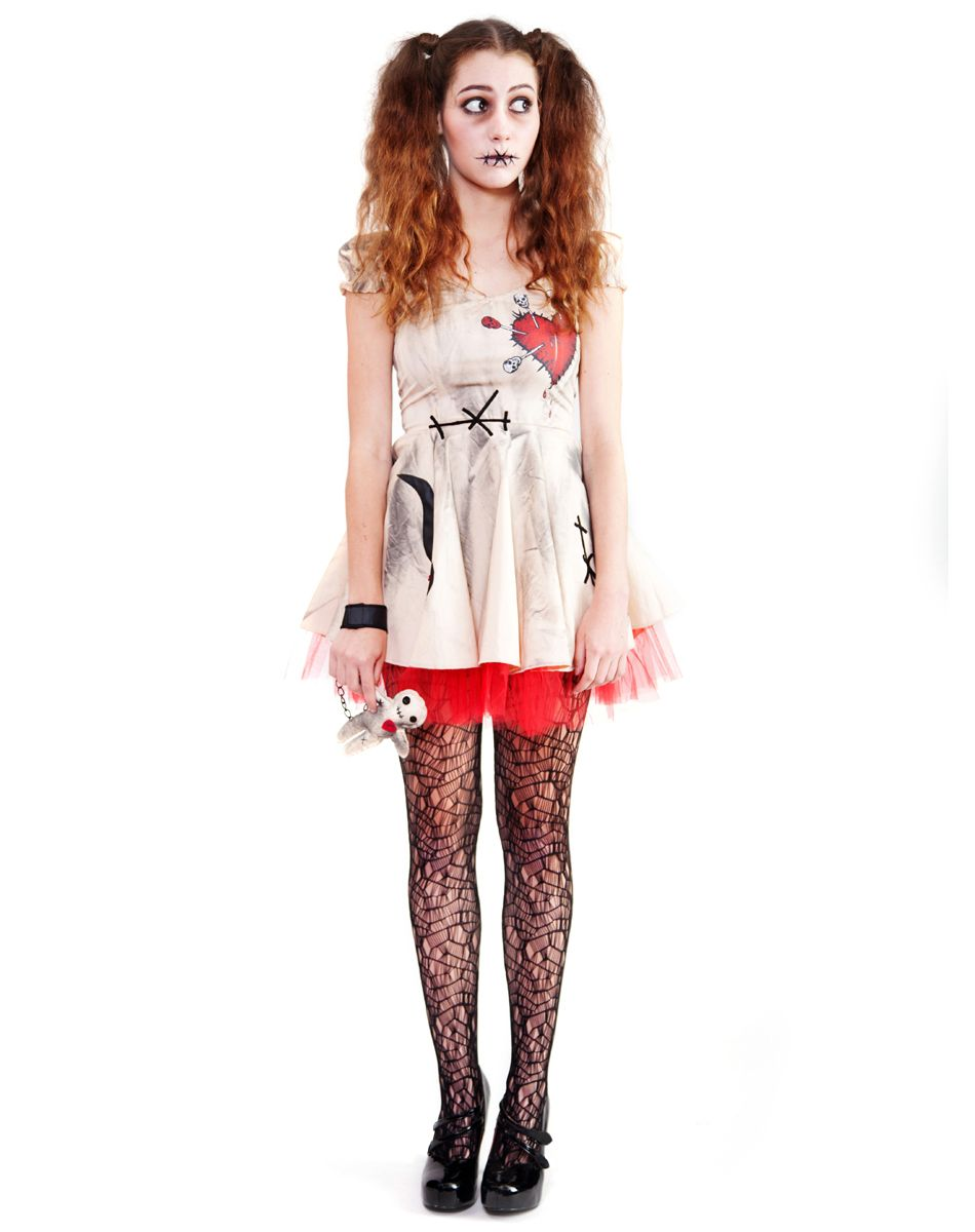 Voodoo Doll Costumes For Adults Costumes Girls Costumes