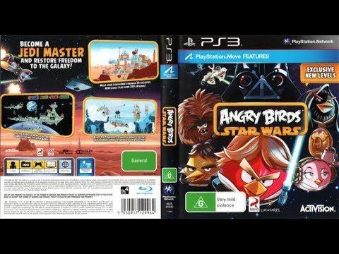 Angry Birds Star Wars Backlog Playstation 3 Ps3 Review Gameplay