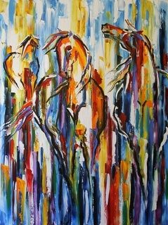 spring painting abstract - Google Search