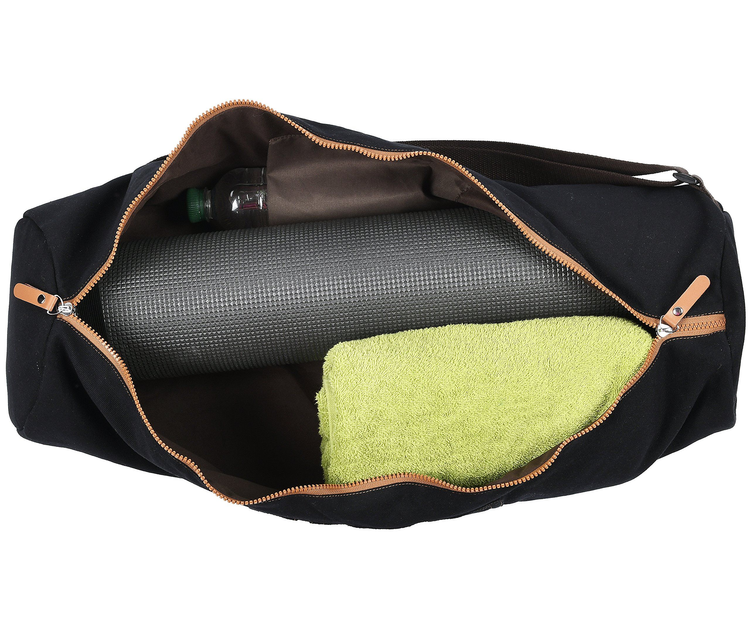 0d69dddaea Sanuvia Large Black Yoga Mat Bag - Easy to Carry. PRACTICAL