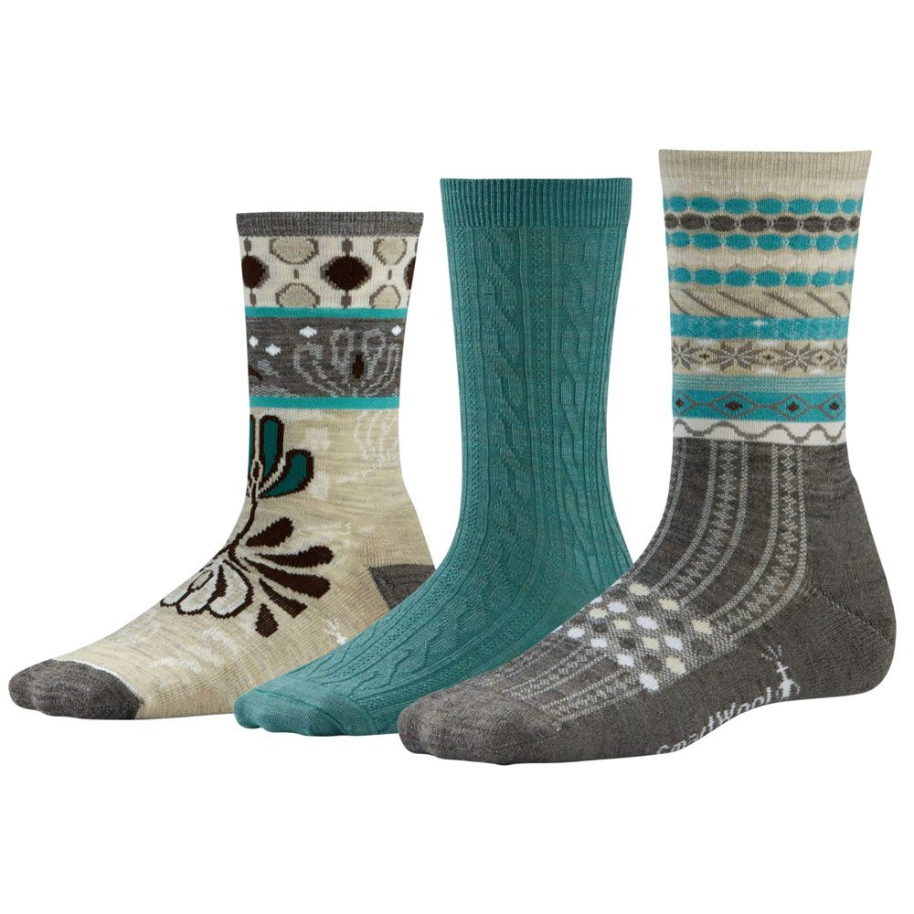 SmartWool Women's Ultra Comfy Trio Sock Gift Set | Smartwool New