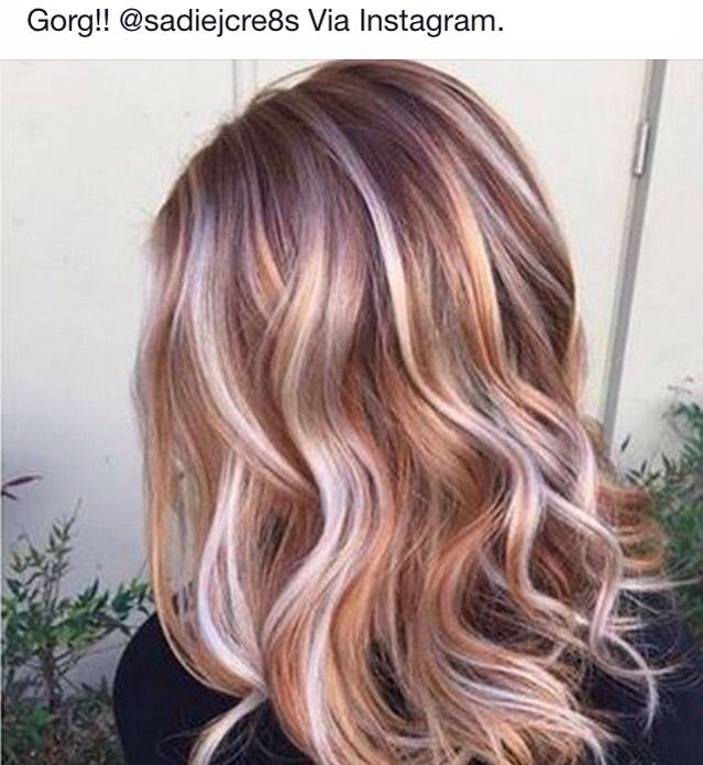 Highlight Colors For Blonde Hair