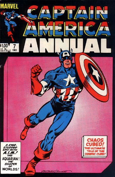 Captain America Annual # 7 by Brian Postman & Joe Sinnott