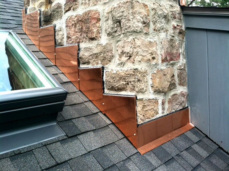 Leaky Chimney From Inspection To Repair Roofing Modern Roofing Roof Architecture