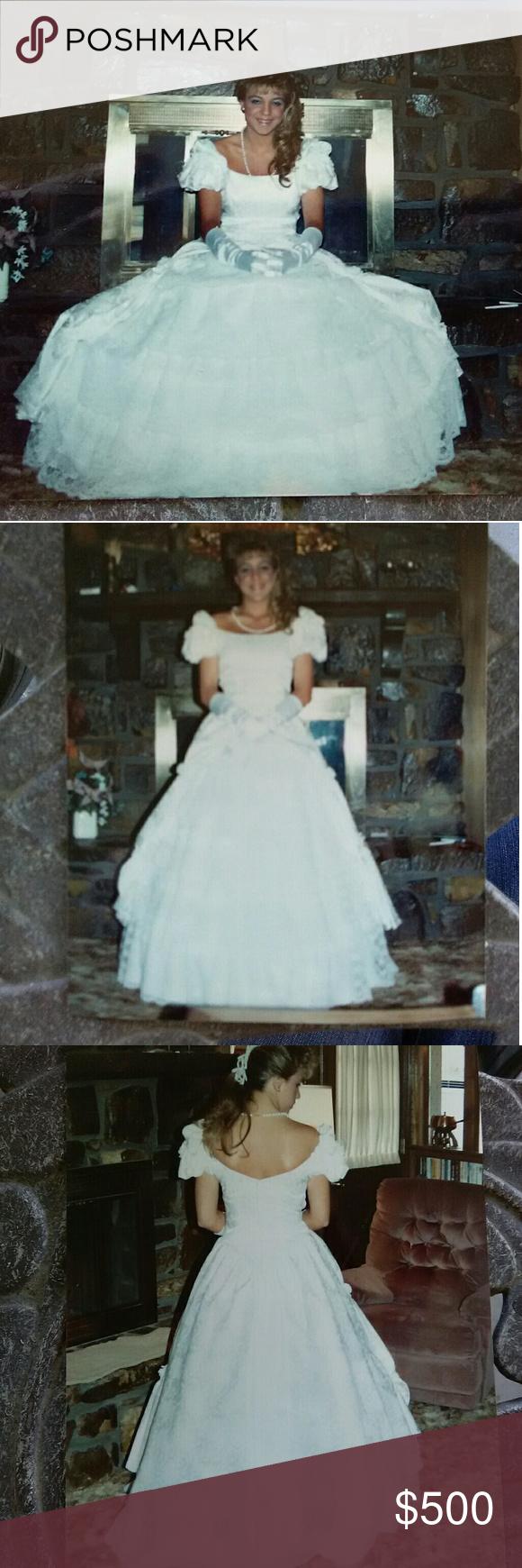 1989 Southern Bell Dress W Hoop Skirt Southern Belle Dress Belle Dress Hoop Skirt [ 1740 x 580 Pixel ]