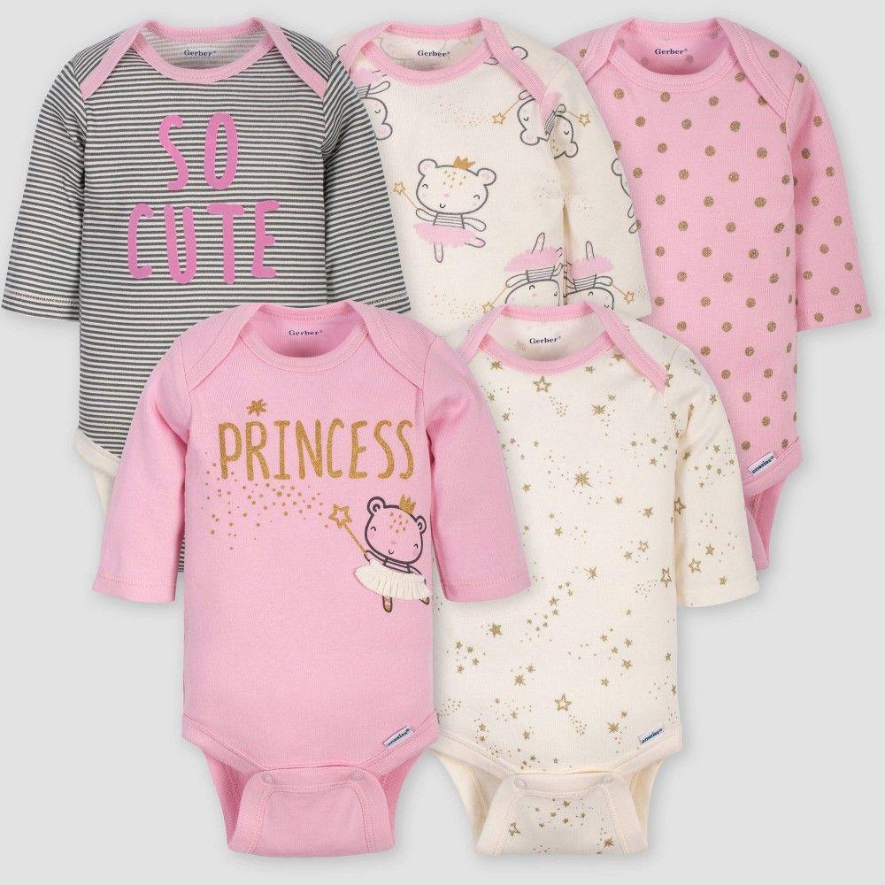 3pk Pink Toddler Girls GERBER Organic Cotton Reusable Training Pants
