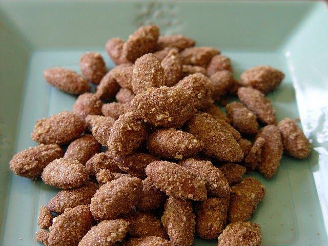 Sugared Cinnamon Almonds.