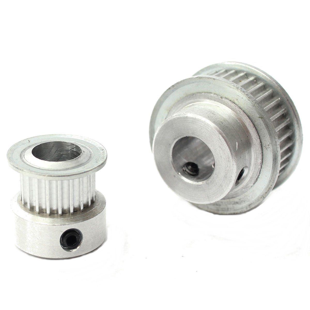20 36t 8mm Bore 6mm Width Gt2 Aluminum Timing Pulley For 3d Printer 40 Teeth 10mm Belt