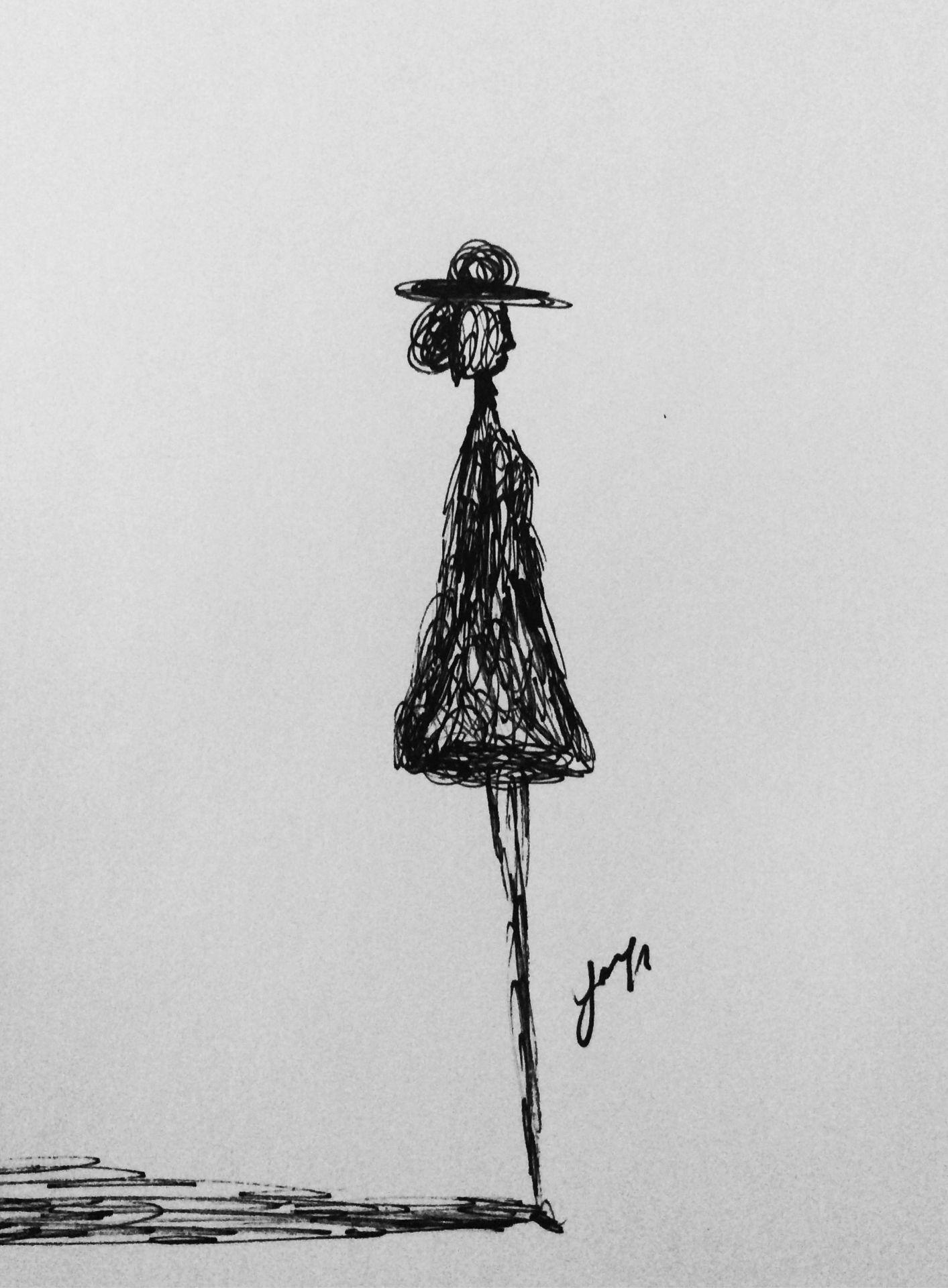 Minimal Illustration / Minimal / Art / Creative / Draw / Design / Resim /  Çizim