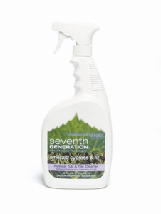 Seventh Generation Natural Tub Tile Cleaner Emerald Cypress Fir - Natural cleaning products for bathroom
