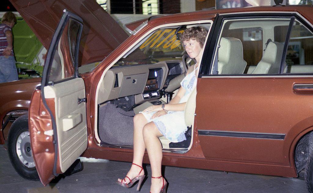 Mr and Mrs Fren's car dealership, Kurri Kurri, NSW, Australia, [1970s