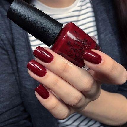 opi • got the blues for red nailpolishcolors  finger