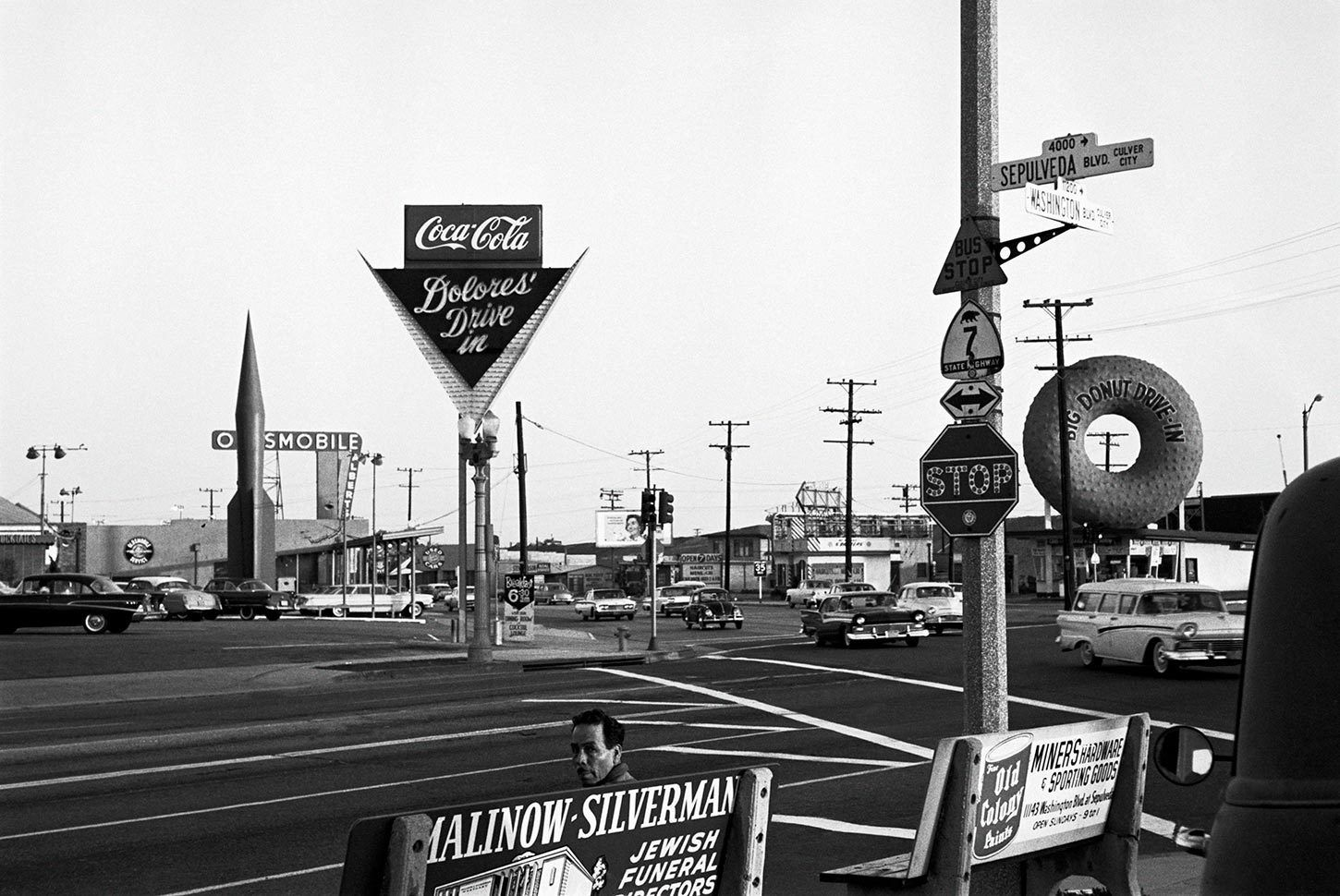 The Corner Of Sepulveda And Washington Boulevards Los Angeles California 1960 Culver City Sepulveda Los Angeles History