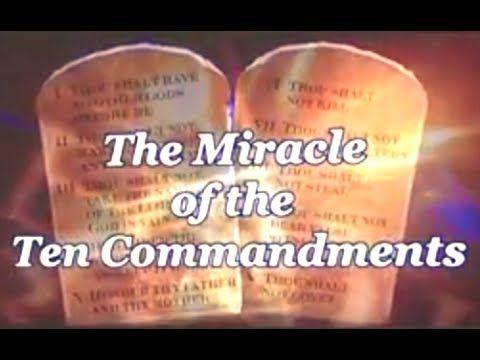 El Milagro de los 10 Mandamientos - El Mundo de Mañana