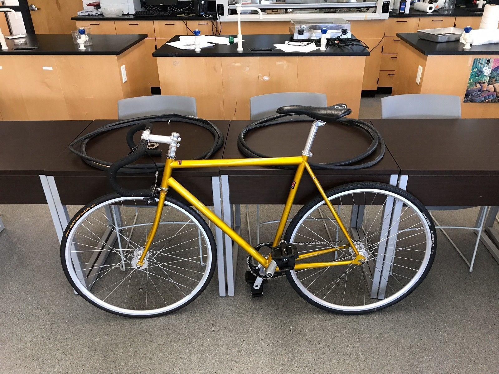 Mercier Kilo TT Chrome Fixed Gear Track Bike / Fixie 53cm Golddigger ...