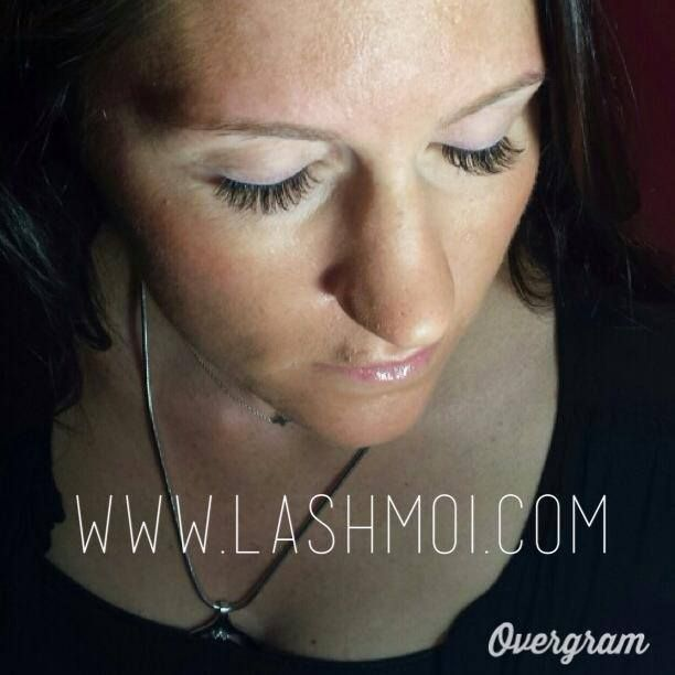 Liz blinks pretty with these Xtreme Lashes! Call to book your appointment today! www.lashmoi.com  #lashmoi