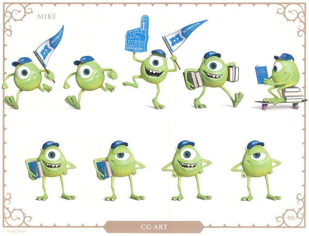 Monsters University - Arte Conceptual | illustrations | Pinterest ...