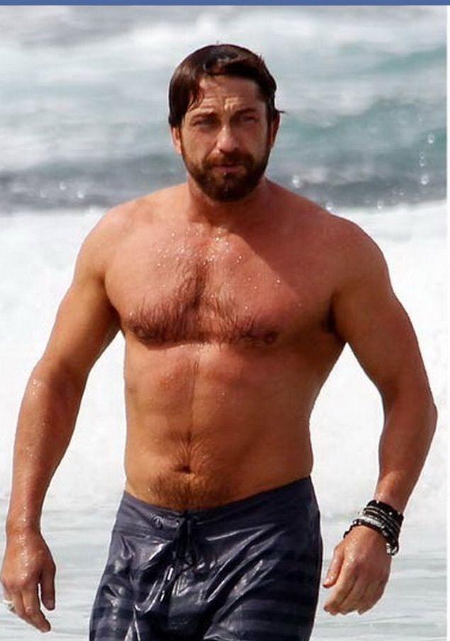 Gerard Butler swimming in Australia *no words* | Love My ...  Gerard Butler s...