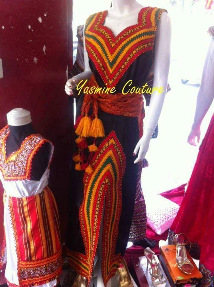Les model de robe kabyle 2018