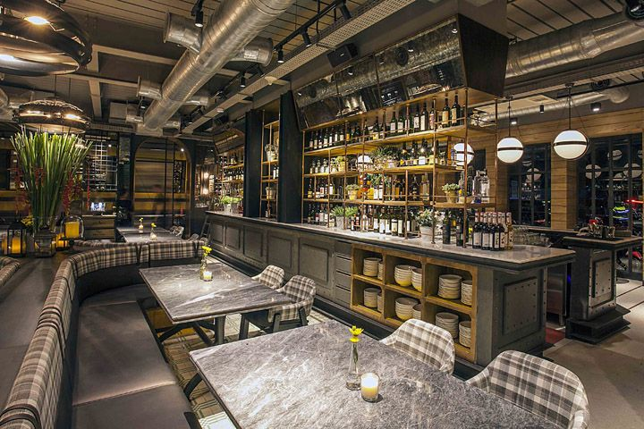 Hurricane s grill restaurant by metaphor interior jakarta