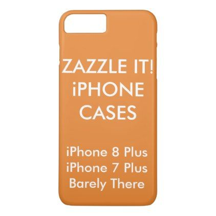 Custom Personalized Iphone 8 Plus 7 Plus Slim Case