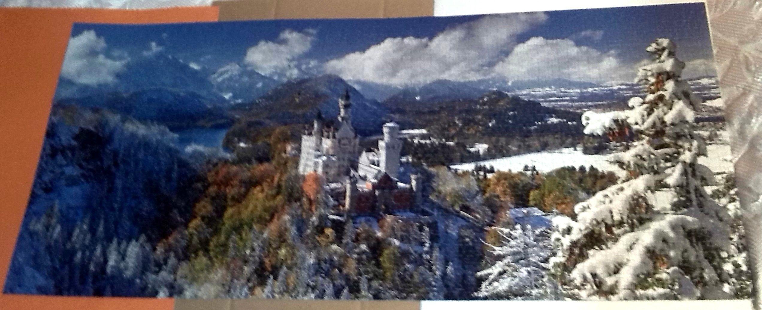 Neuschwanstein Castle 2000 Pieces Ravensburger Puslespill
