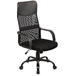 bestoffice mid back mesh ergonomic computer desk office chair black