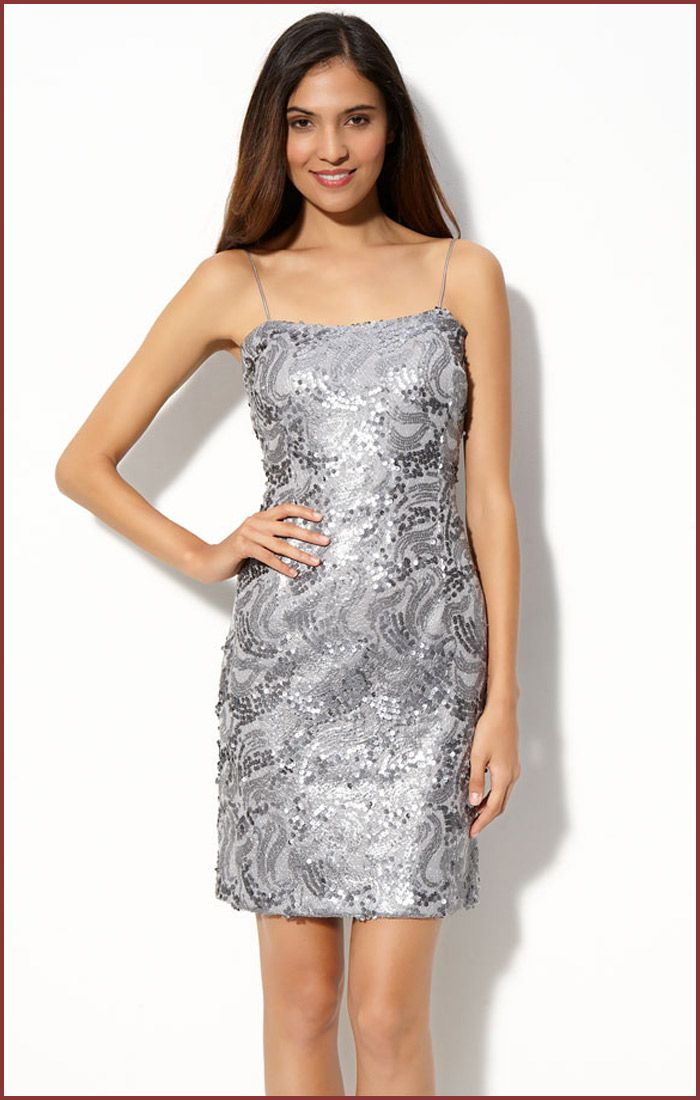 cocktail dresses | ... Silver Cocktail Dress from JS Boutique ...