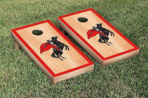 College Vault Texas Tech Red Raiders Cornhole Game Set Hardcourt Border Version *** See this great product.
