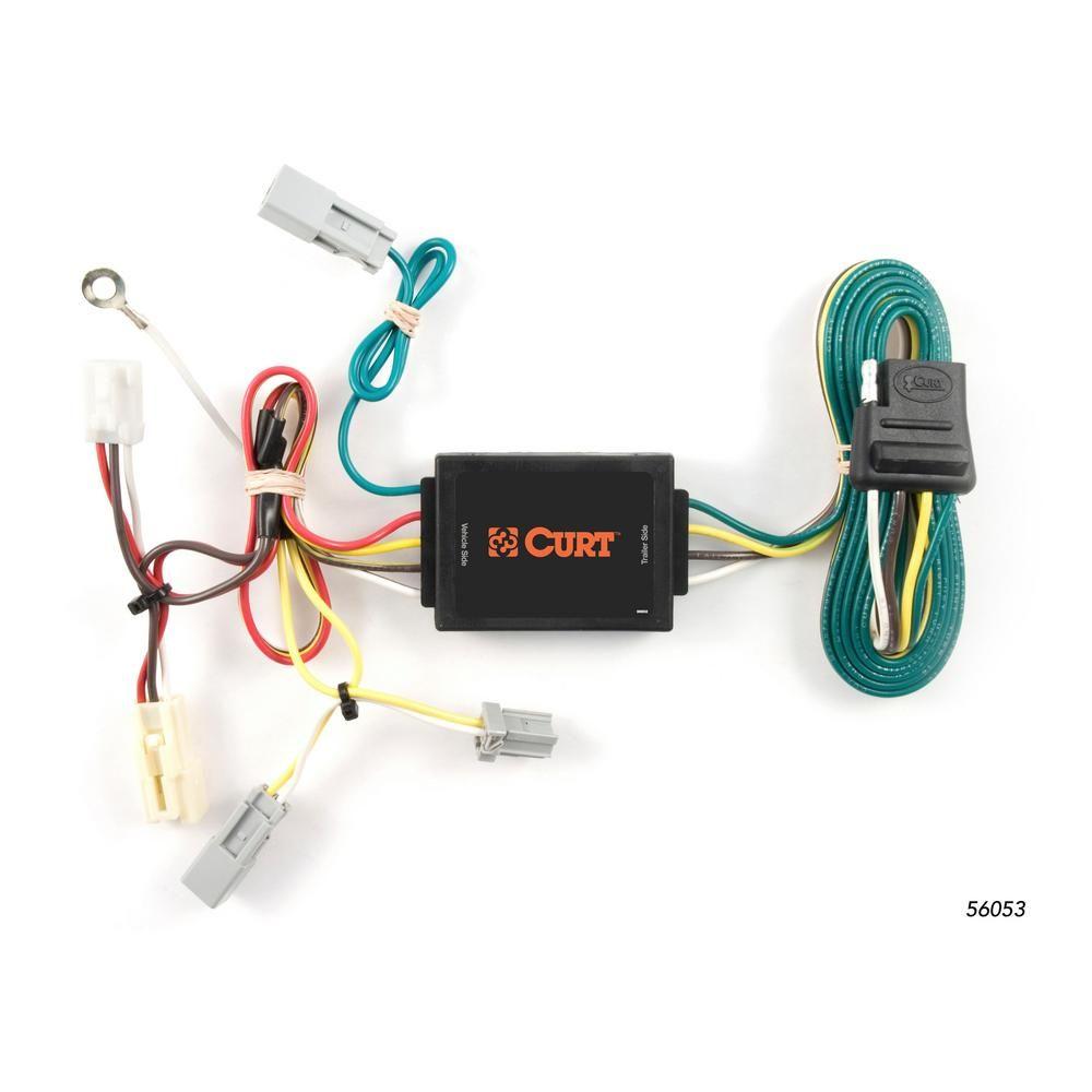 custom wiring harness kits curt custom wiring harness  4 way flat output  56053 custom  curt custom wiring harness  4 way flat