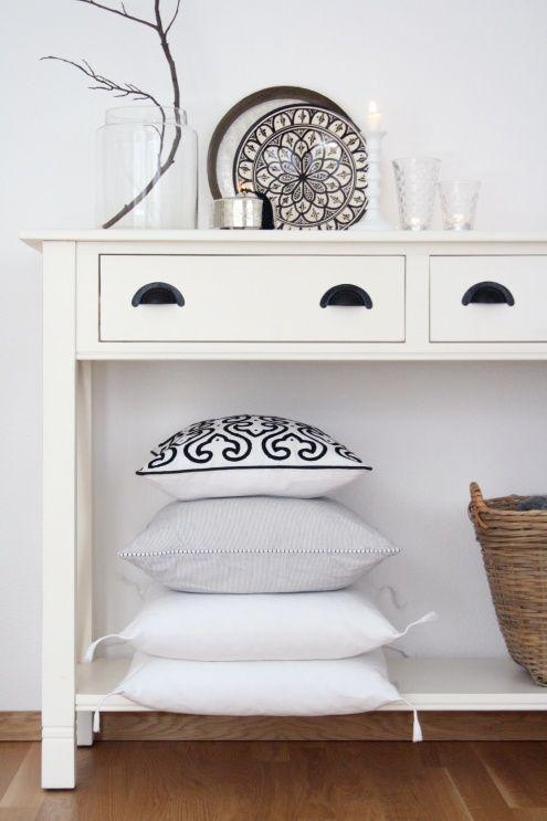 Ein bisschen Marokko ..., Tags Kissen + Tablett + Keramik + Marokko + Tine K home