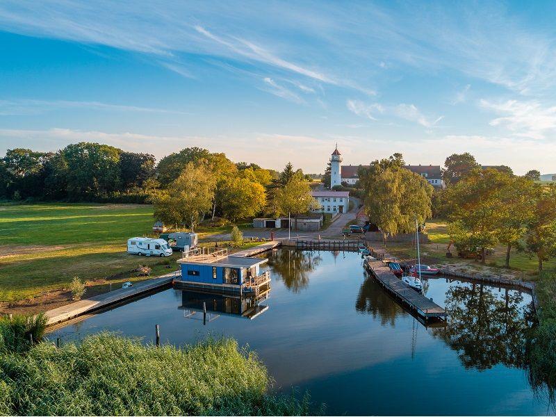 Wasserwohnung auf Usedom Hausboot mieten und kaufen