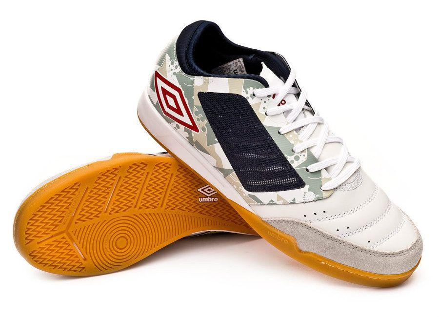 1fc20289c7658 futsal #umbro Umbro Chaleira Pro IC - White / Grey / Black ...