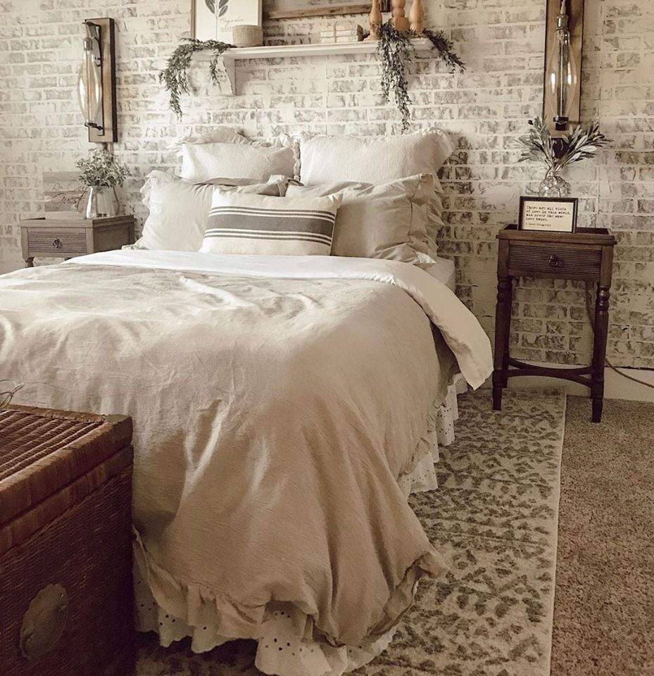 Bringing You This Beautiful Bedroom Design Designed By Prettylittlefarmhouse231 Beautiful Bedroom Designs French Country Master Bedroom Inspire Me Home Decor