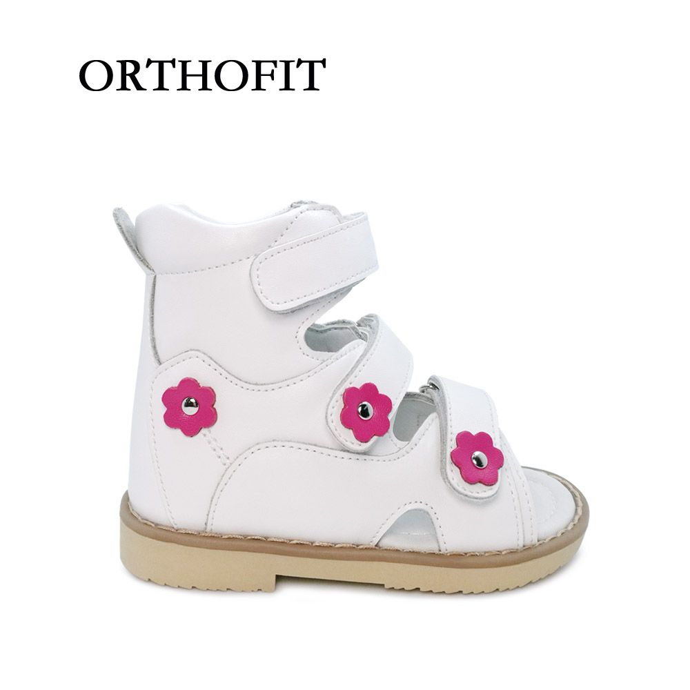 674442fc3 Click to Buy    Flower Decoration Simple Lovely Children Genuine Leather  Flat Foot