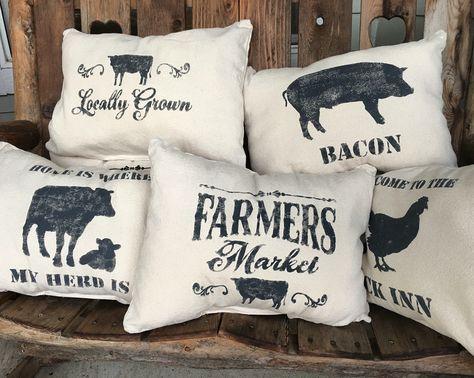 Farmhouse Pillows Farmhouse Pillows Pillow Room Farm House Living Room