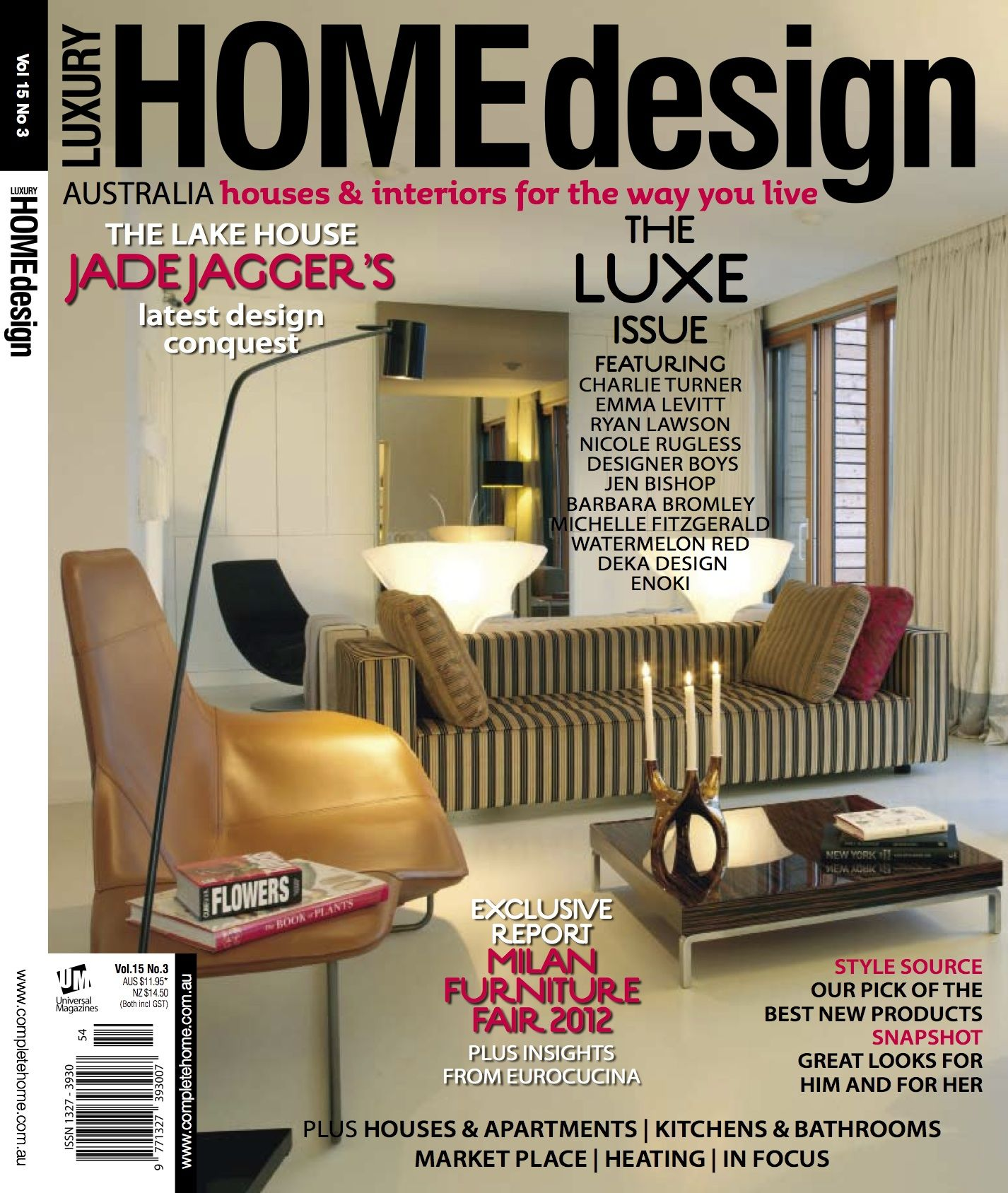 amazing homes magazines #6: Accessories, The Splendid Lake House Latest Design Luxe Issue Featutring  Milan Furniture Luxyry Home Design: Splendid Morning With The Home Design  Magazines
